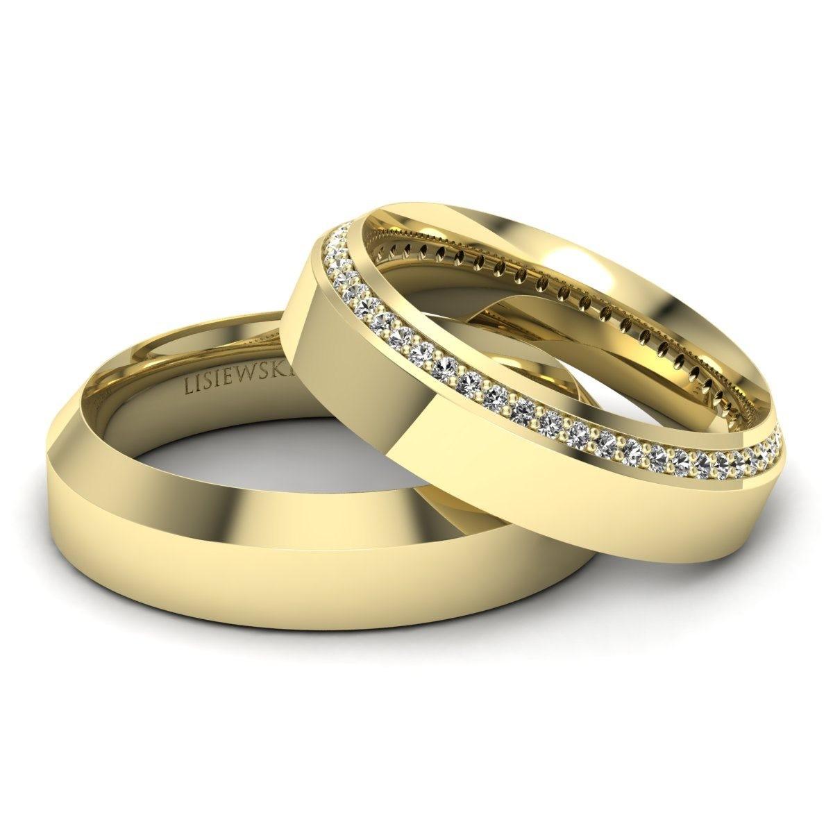Amore - Obrączki ślubne z diamentami