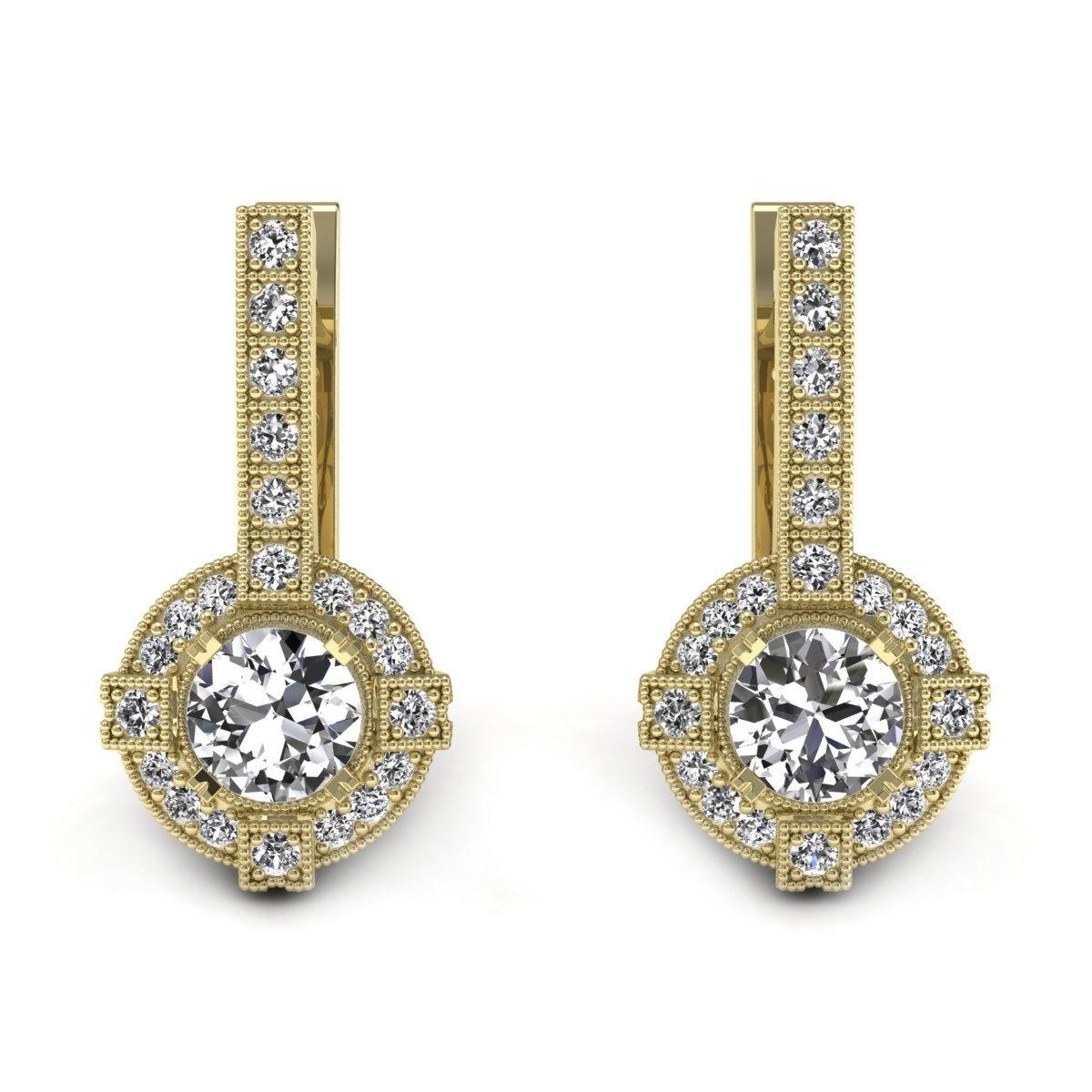 Audrey - Kolczyki z diamentami